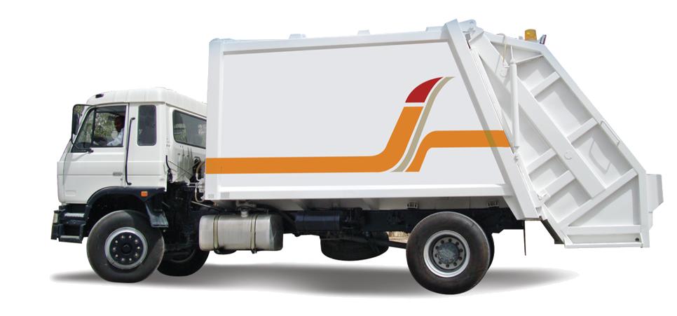 Garbage Truck 7 cu Yards