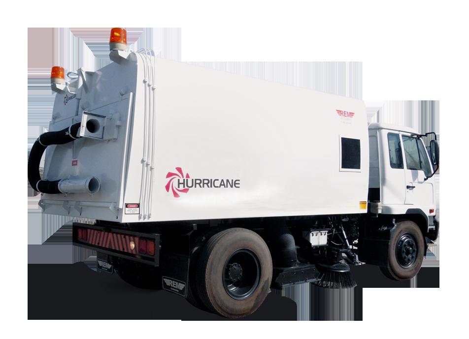 Hurrcane sweeper 7.5 Cu.m